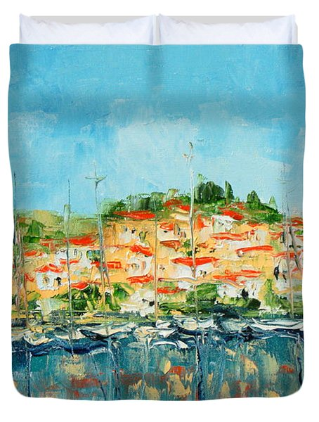 Croatia - Split Duvet Cover