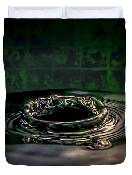 Croc Splash Duvet Cover by LeeAnn McLaneGoetz McLaneGoetzStudioLLCcom