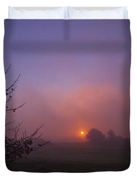 Cromer Sunrise Duvet Cover by David French