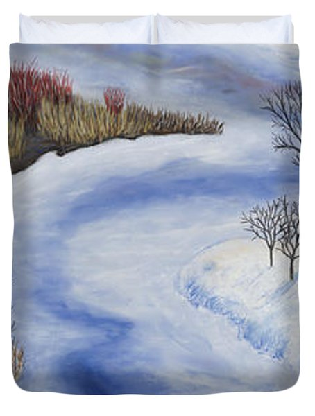 Crooked Creek Duvet Cover
