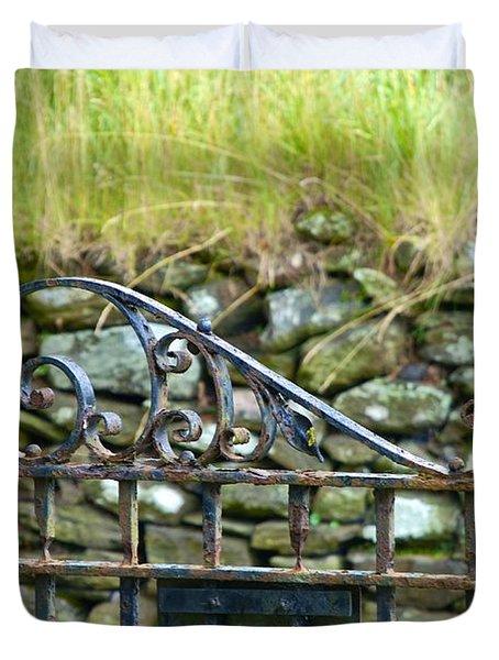 Crossing Gate Duvet Cover