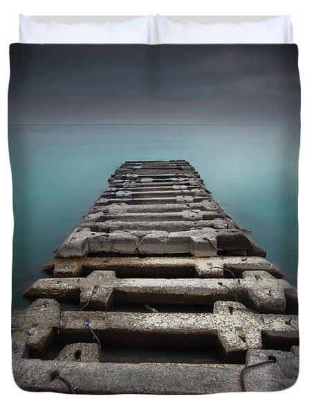 Crossing Over Duvet Cover