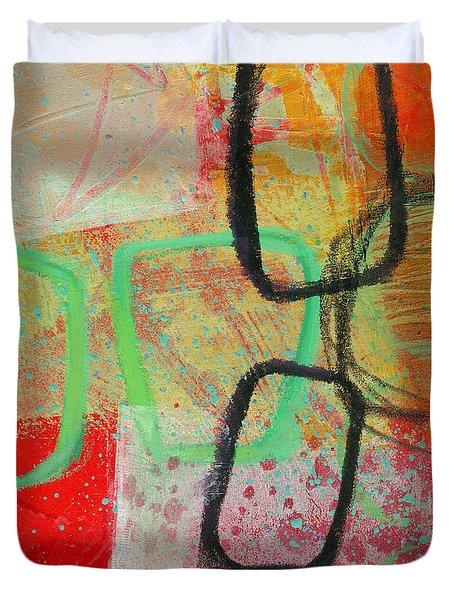 Crossroads 29 Duvet Cover by Jane Davies