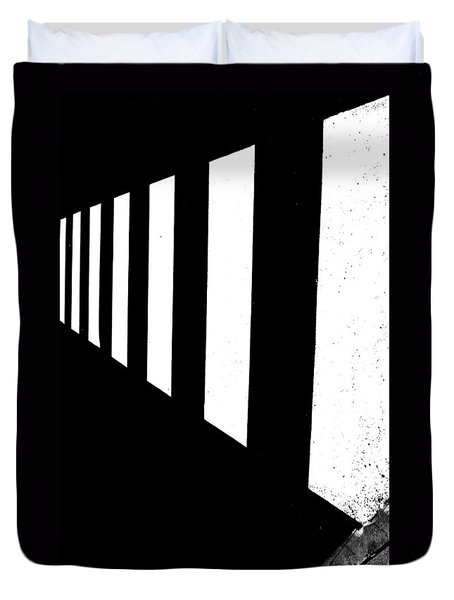 Crosswalk Duvet Cover by Bob Orsillo
