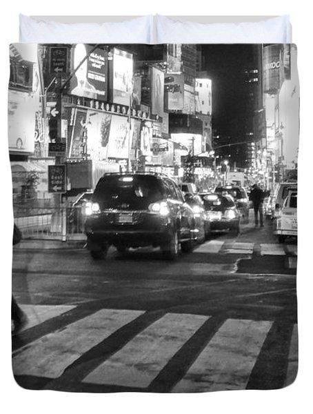 Crosswalk Duvet Cover by Dan Sproul