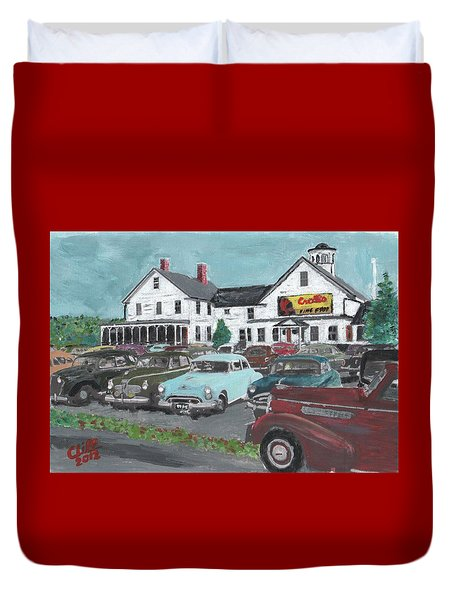 Crosti's Grove Duvet Cover