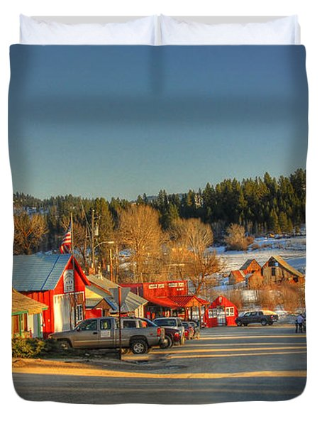 Crouch Main St Duvet Cover