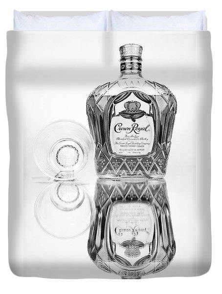 Crown Royal Black And White Duvet Cover