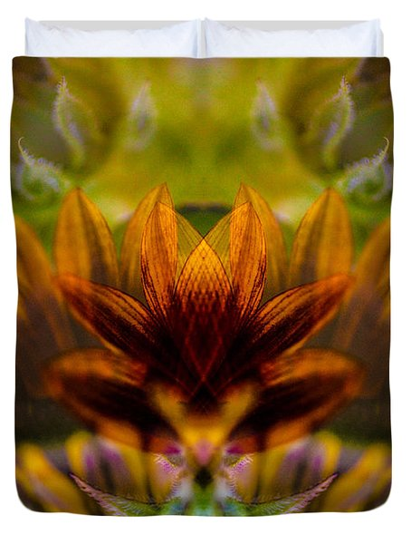 Crowned  Duvet Cover by Omaste Witkowski