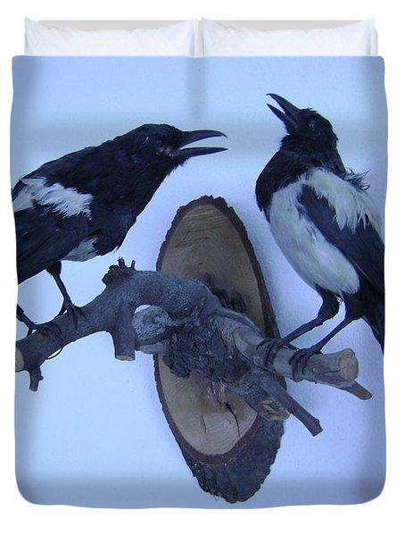 Crows Duvet Cover