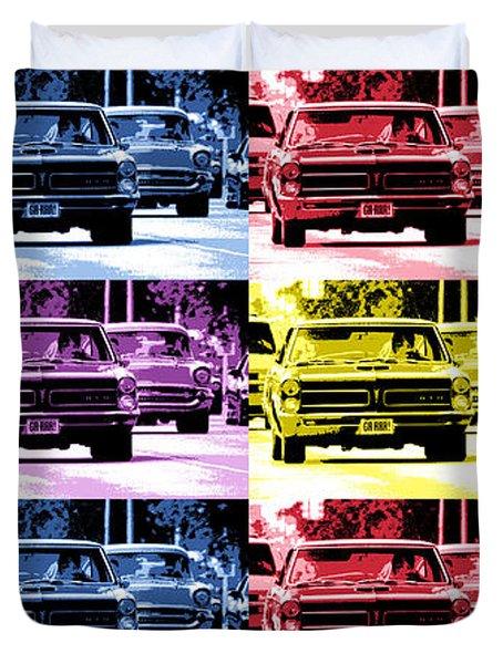 Cruise Pop 1 Duvet Cover by Gordon Dean II