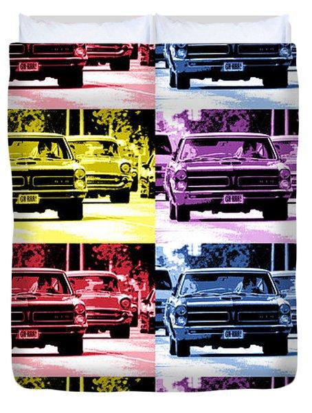 Cruise Pop 4 Duvet Cover by Gordon Dean II