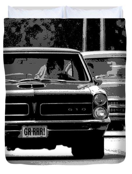Cruisin' Woodward Duvet Cover by Gordon Dean II