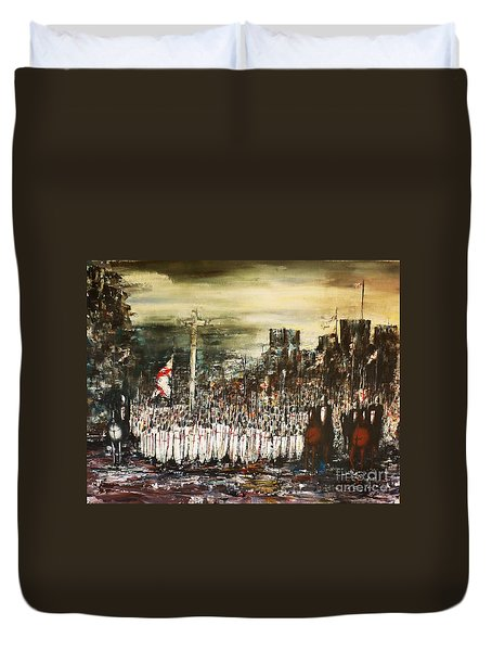 Crusade Duvet Cover