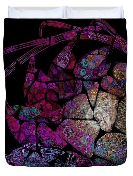 Crustacean Duvet Cover by Amanda Moore