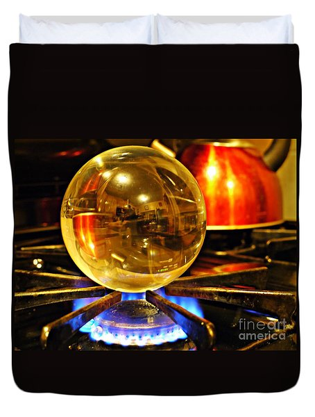 Crystal Ball Project 5 Duvet Cover