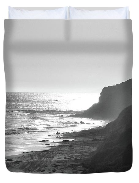 Crystal Cove I Duvet Cover