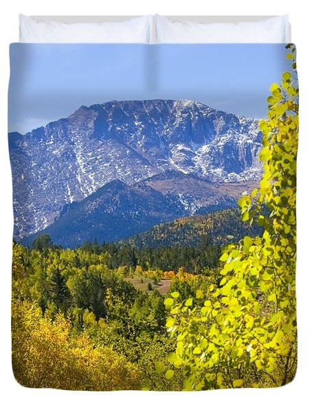 Crystal Creek Autumn Duvet Cover