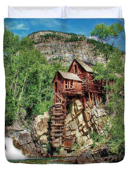 Crystal Mill Crystal Colorado Duvet Cover by Ken Smith