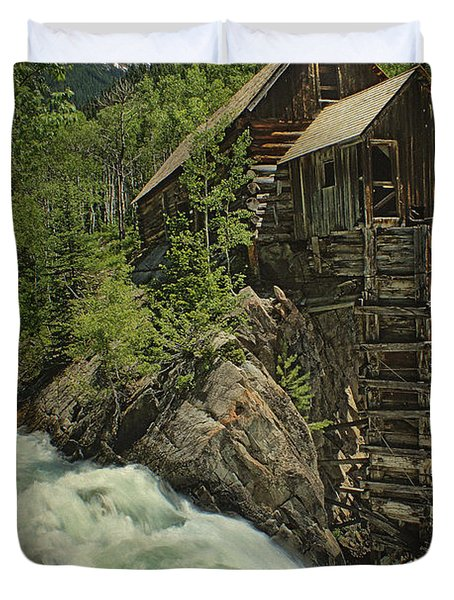 Crystal Mill Duvet Cover by Priscilla Burgers
