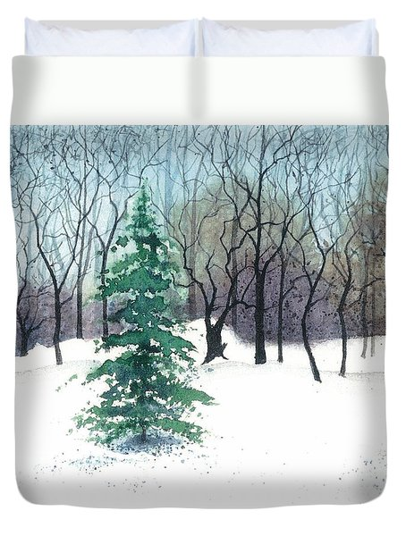 Crystal Morning Duvet Cover by Barbara Jewell