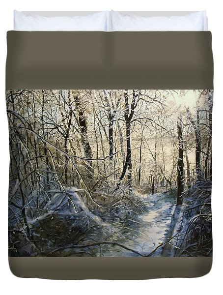 Crystal Path Duvet Cover