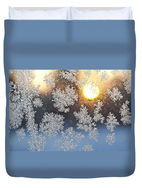 Crystal Sunrise Duvet Cover