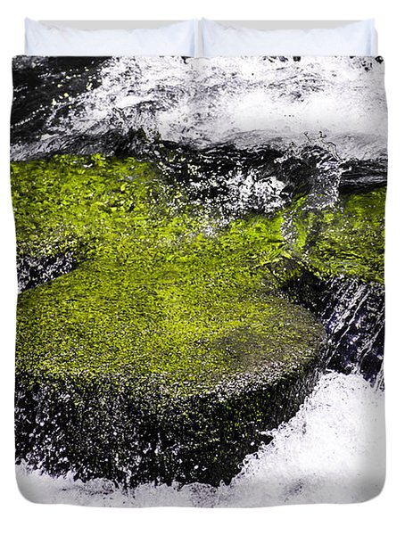 Crystal Water  Duvet Cover by Sotiris Filippou