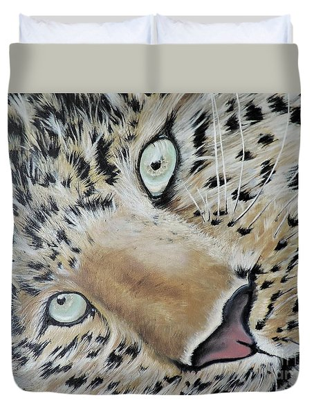 cub Duvet Cover by Dianna Lewis