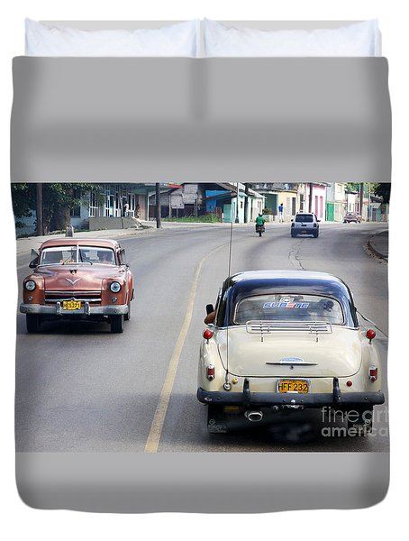 Cuba Road Duvet Cover