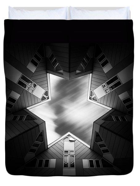 Cubic Star Duvet Cover