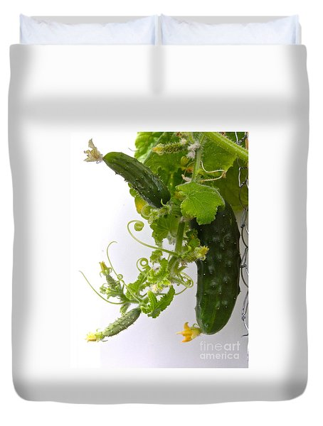 Cucumber Dance Duvet Cover