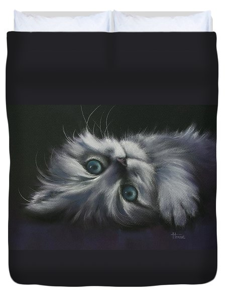 Cuddles Duvet Cover by Cynthia House