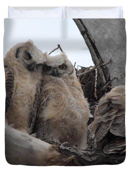 Cuddling Up Duvet Cover