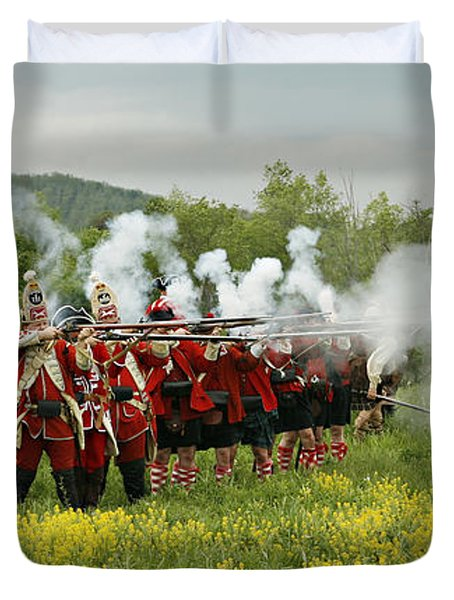 Culloden Loyalists Duvet Cover