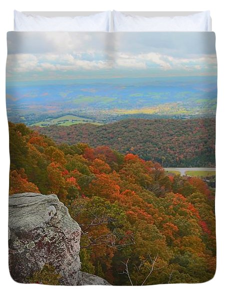 Cumberland Gap Duvet Cover by Dennis Baswell