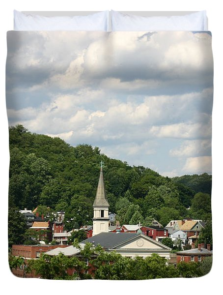 Cumberland Steeples Duvet Cover