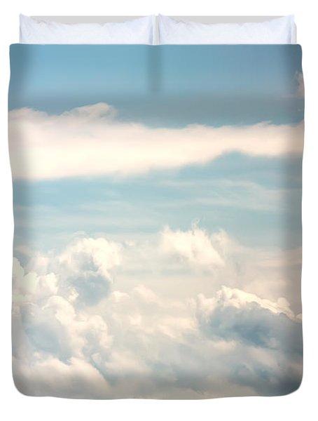 Cumulus Clouds Duvet Cover