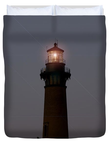 Duvet Cover featuring the photograph Currituck Lighthouse by Greg Reed