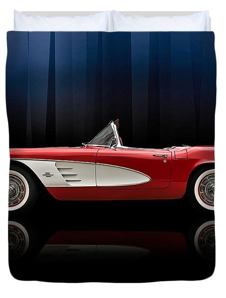 Curtain Call Duvet Cover