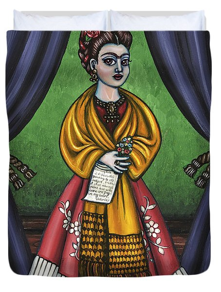 Curtains For Frida Duvet Cover