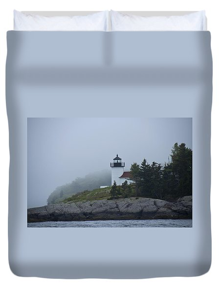 Curtis Island Lighthouse Duvet Cover