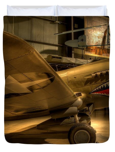 Curtiss P-40 Warhawk Duvet Cover