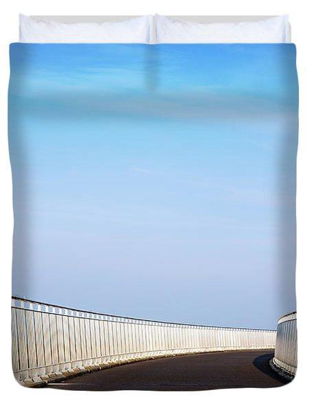 Curved Bridge Duvet Cover