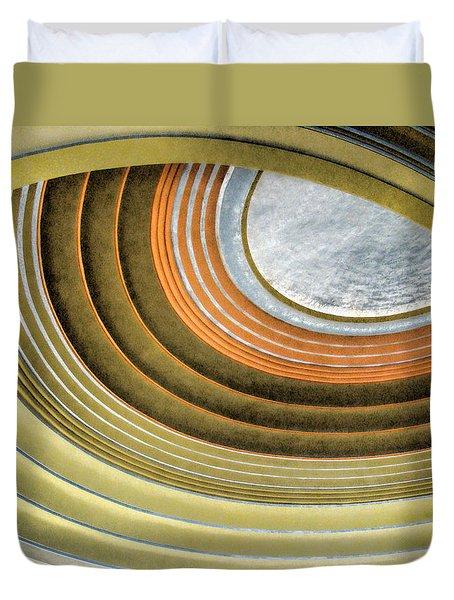 Curving Ceiling Duvet Cover