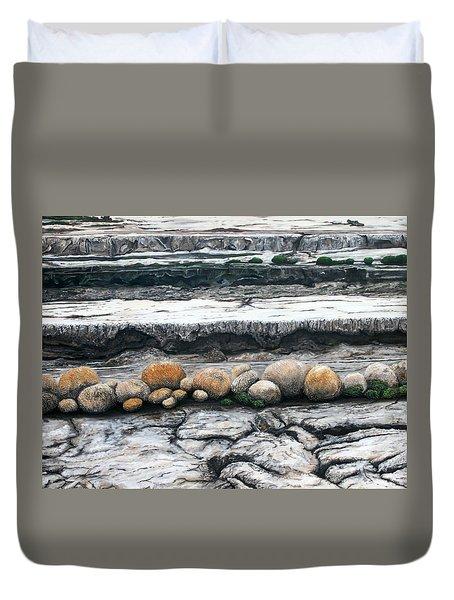Cushion Bush Dam Duvet Cover by Lyndsey Hatchwell