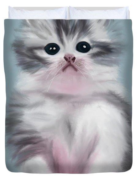 Cute Kitten Duvet Cover