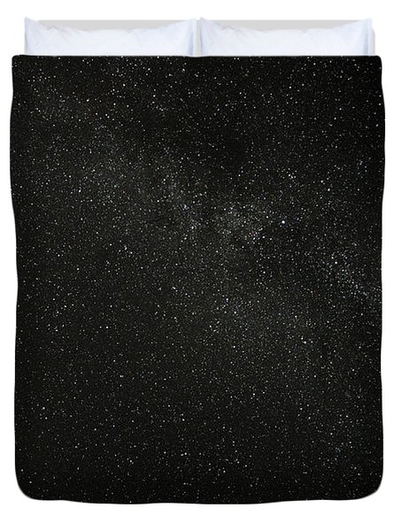 Duvet Cover featuring the photograph Cygnus  Deneb  Vega by Greg Reed