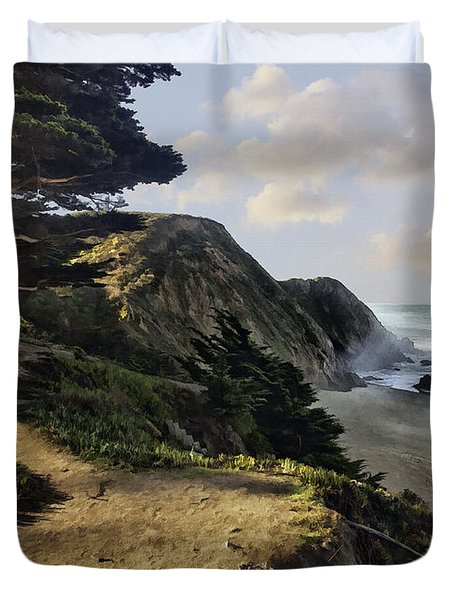 Cypress Beach Duvet Cover