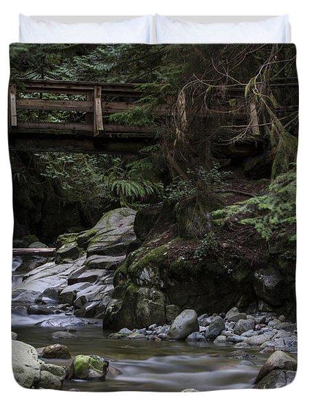 Cypress Falls Duvet Cover